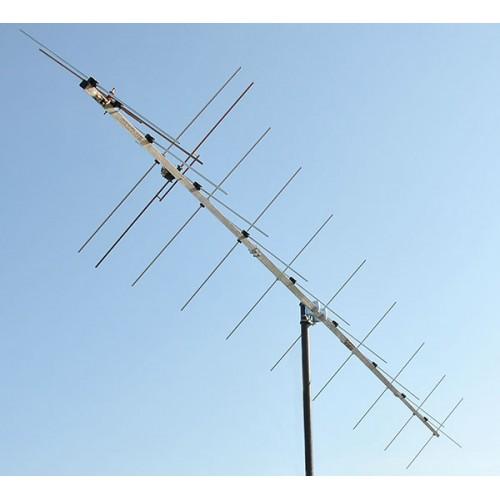 2 meter XPOL Yagi 20 Element Low Noise Antenna PA144-XPOL-20-6B