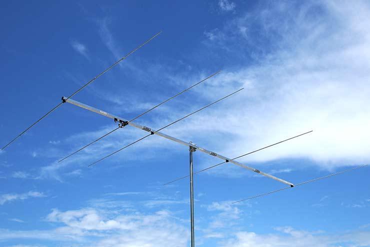6m Contest, DX and portable Easy to assemble and disassemble 50 - 50.5 MHz Low Noise Yagi Antenna PA50-5-4.3AP