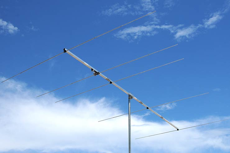 """50-50.5MHz Portable and DX Contest low Noise Yagi Antenna """"A"""" version PA50-5-4.3AP"""
