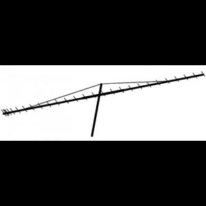 70cm 432MHz Yagi Effect of Metal Mast Passing Through Element Plane