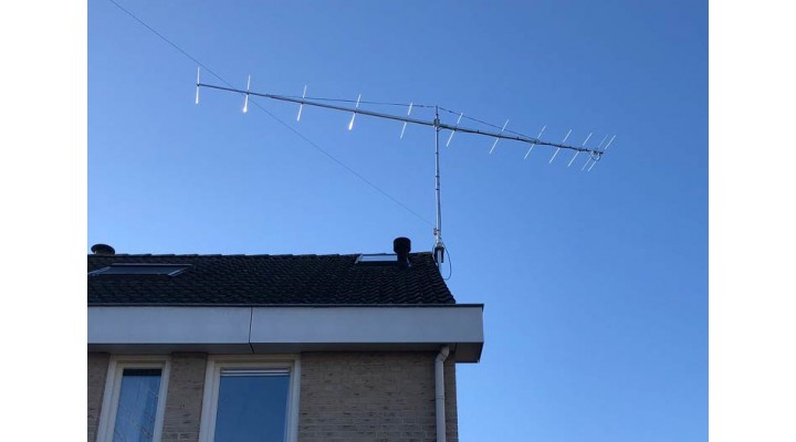 PA144-12-7BGP Antenna installed and working very well at PA3GRR