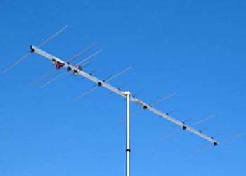 2 meter 70cm Dual Band Yagi Antenna Two Connectors