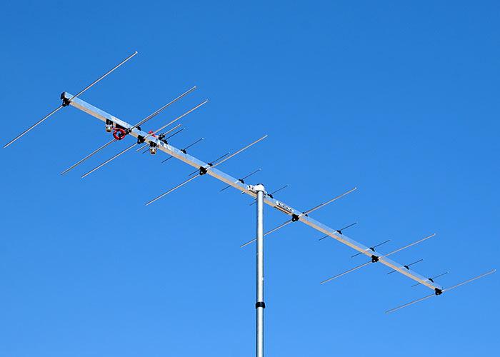 2 meter 70cm Dual-Band Yagi Antenna Two Connectors PA144-432-19-3-2CB