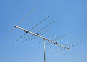 4 meter and 2 meter Dual Band Antenna 144 MHz Horizontal 145 MHz Vertical Polarization Yagi