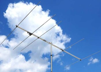 4 meter 70 MHz 5 element Yagi Antenna