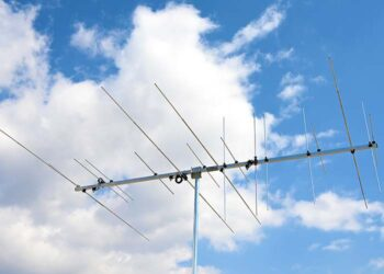6 meter 2 meter Dual Band Horizontal Vertical Polarization Two Band Yagi Antenna