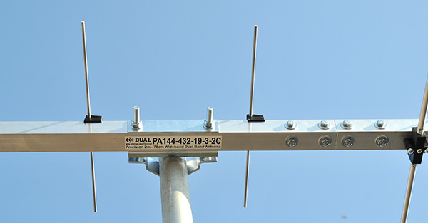 144MHz-432MHz-DualBand-Antenna-PA144-432-19-3-2C-Bracket-Join-View