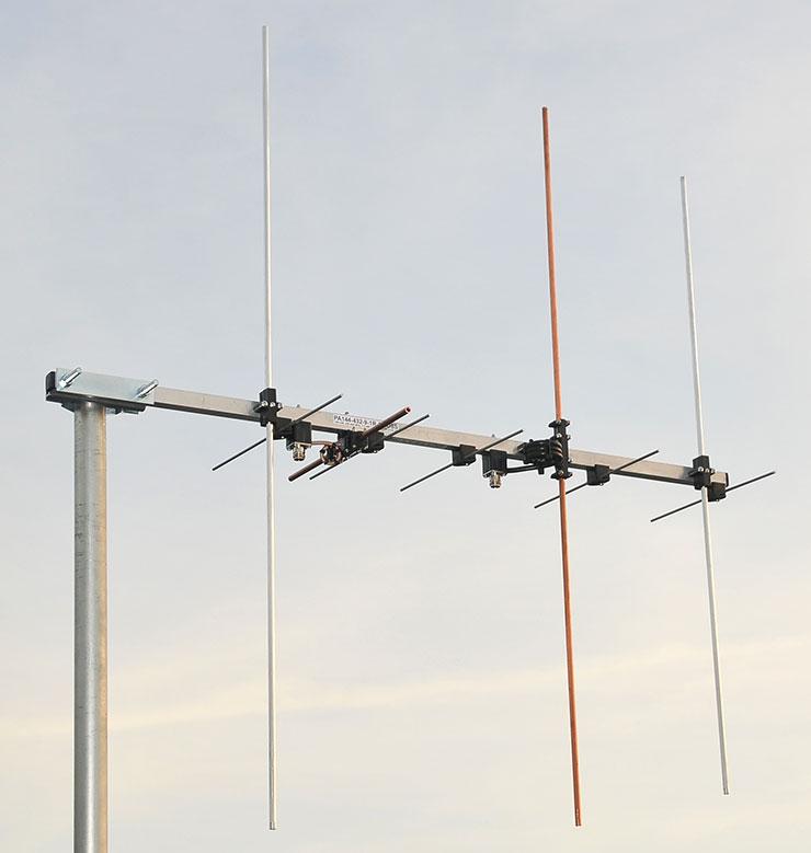 Cross-Yagi Antenna PA144-432-CROSS-9-1-2CRA Dualband Yagi