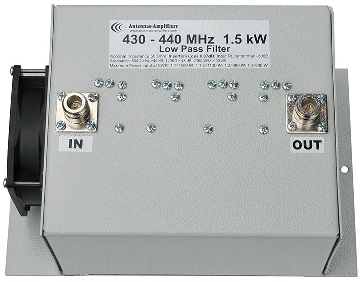 432MHz-Low-Pass-Filter-High-Power-LPF