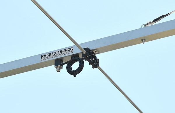 50MHz-70MHz-Super-Yagi-Antenna-PA5070-15-9-2C-Balun-and-connector-holder-50MHz
