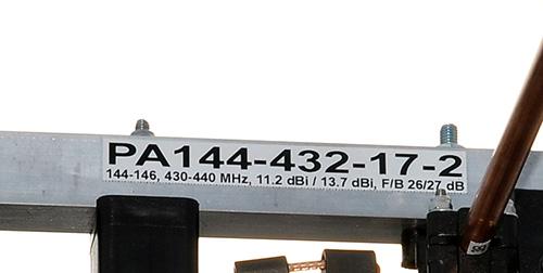 144-432MHz-Dual-Band-Antenna-PA144-432-17-2-Label