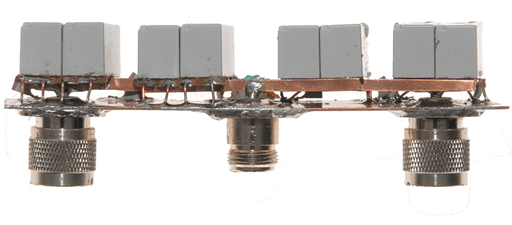 High-power-HV-relay-front