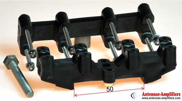 UV-Resistant-Dipole-Holder-Max-Air-Boom-50mm-Very-Strong