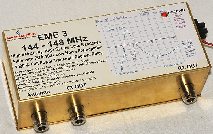 2m-High-Selectivity-High-Q-Low-Loss-Bandpass-Filter-with-PGA-103+Very-Low-Noise-Preamplifier-1500W-Transmit-Receive-Relay