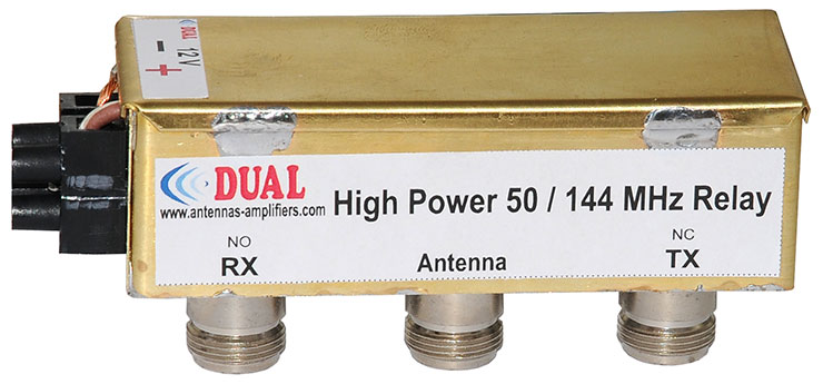 Cheap-High-Power-Relay-144MHz-50MHz-N-coonectors