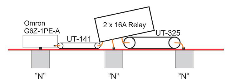 High-power-Relay-144MHz-50MHz-Montage-YU1CF