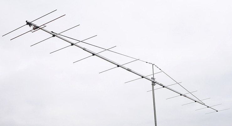 2m Super Low Noise EME Competition Yagi Antenna Airplane PA144-12-7AGPL Light Weight