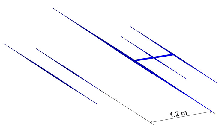 3-Band-WARC Yagi PA10-18-24-5-3HD