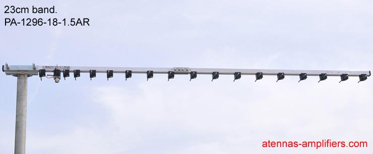 1296MHz-Yagi-Antenna-18elements-High-Gain
