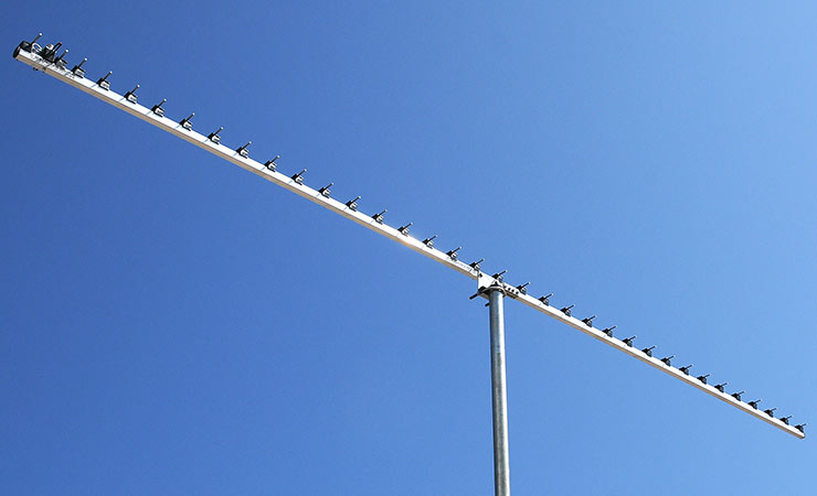 23cm Super Low Noise Yagi Antenna PA1296-36-3BRG 3m boom