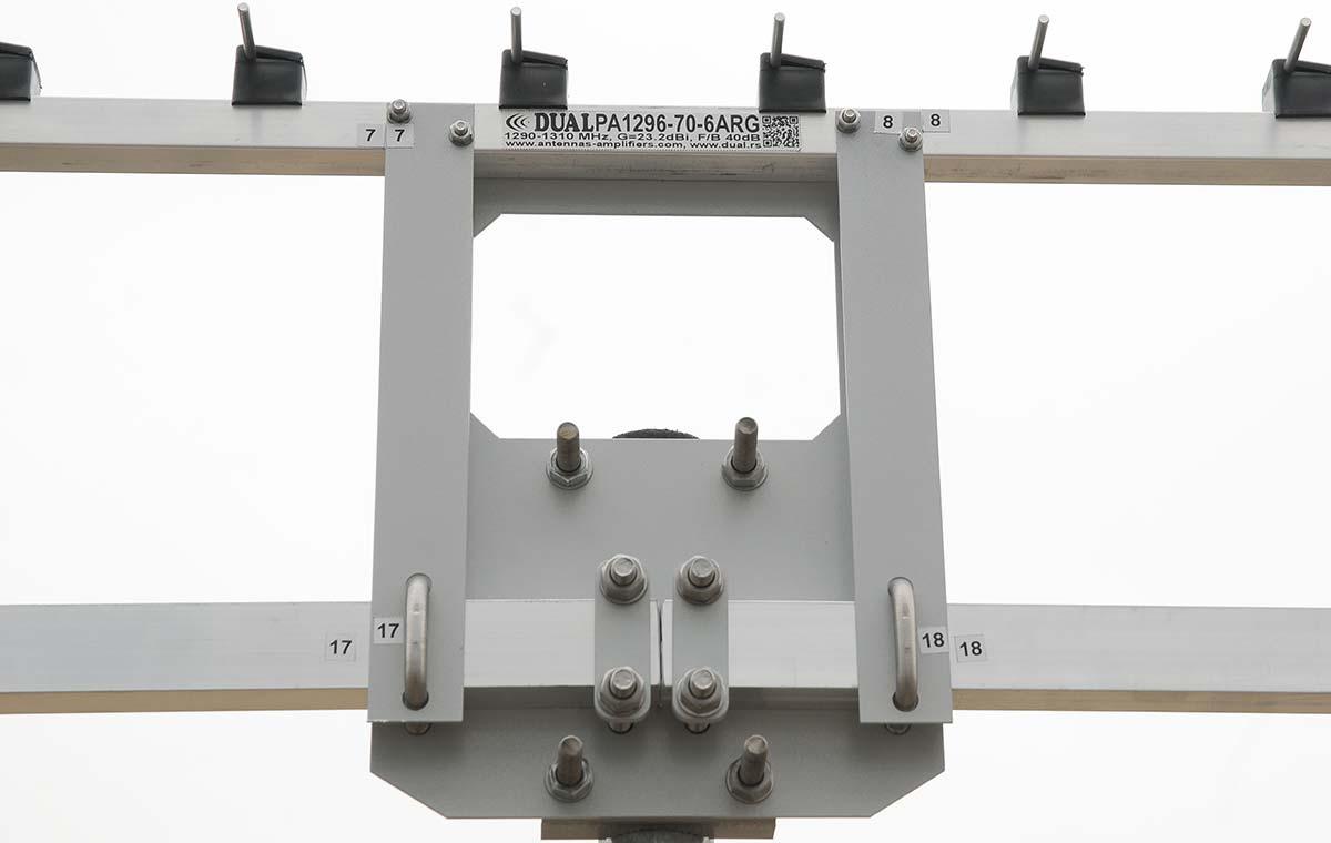 BoomHolder-23cm-70Ele-Antenna
