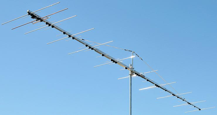 144 and 432MHz Common Connector DualBand Yagi Antenna PA144-432-36-6BG