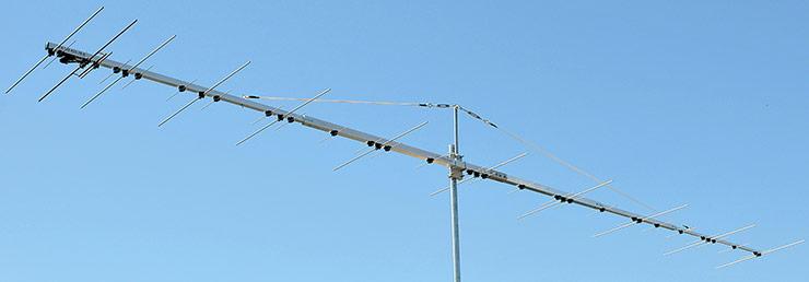 One Connector Dual Band Yagi 144 432 MHz Antenna PA144-432-36-6BG
