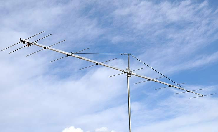 144MHz Best G/T -5.31dB DX Expedition Yagi Antenna PA144-10-6AGP Low-Noise