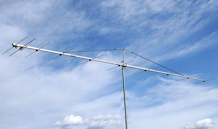 144 MHz The Best Low Noise Yagi Antenna by Latest VE7BQH Table PA144-10-6AGP Excellent G/T