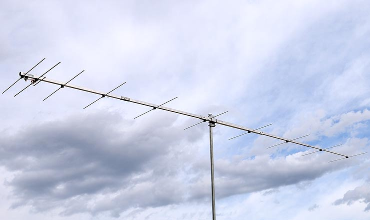 2meter Portable Low Noise Yagi Antenna VHF Competitions PA144-10-6AP