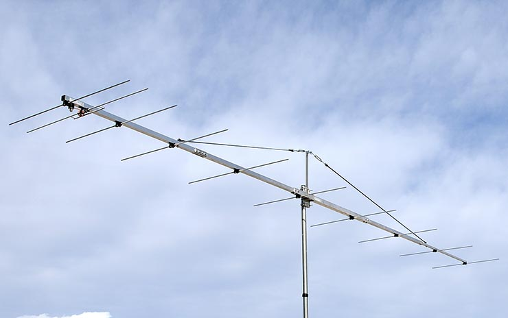 Extreme Low Noise 2m Yagi Antenna by Latest VE7BQH Table PA144-10-6AGP