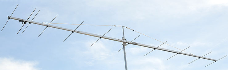 144 MHz Low Noise VHF Contest Antenna PA144-11-6BG