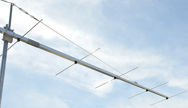 2meter 144MHz Contest EME Low Noise Yagi Antenna Boom Join Detail Guy Rope Support
