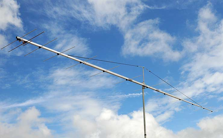 144 MHz Excellent Yagi Antenna 144MHz EME WSJT Low Noise PA144-13-8BGP