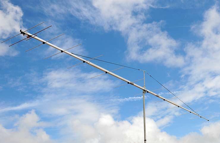 144MHz WSJT Contest Super Yagi Antenna EME Q65 Low Noise PA144-13-8BGP