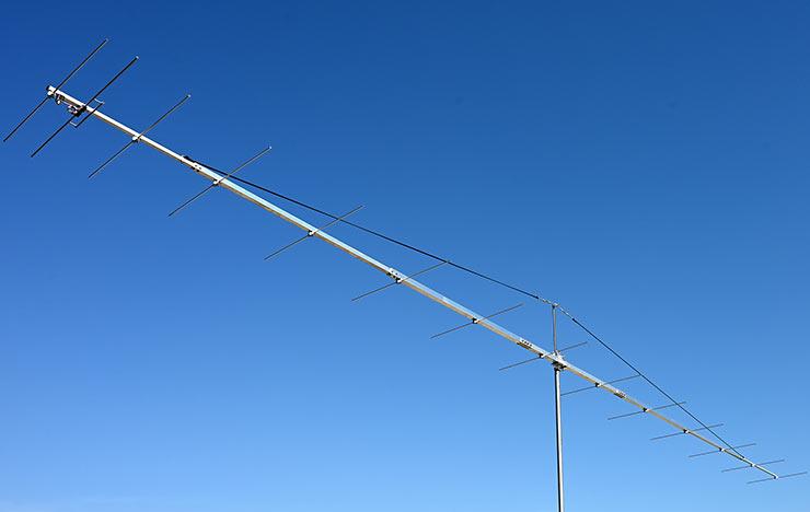2m EME Q65 Competition Yagi Antenna. Super Low Noise PA144-14-9BGP