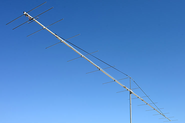 World Best G/T 2m 9m Boom Yagi PA144-14-9BGP 9m Wins all Antennas up to 9.7m Boom