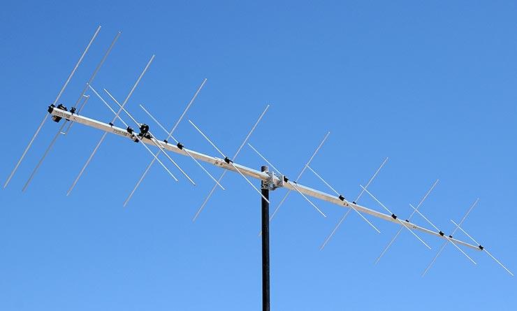 144MHz XPOL Dual Polarity Yagi Antenna PA144-XPOL-18-5B