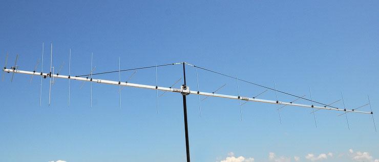 144MHz CROSS PLUS Low Noise EME Q65 Yagi Antenna PA144-CROS-24-7BGP