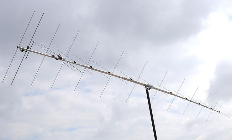 2m 144MHz XPOL EME Super Yagi Antenna Super Low Noise Airplane Length PA144-24-7APL