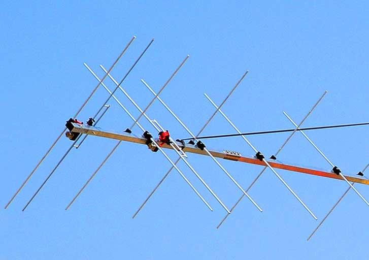 Superior G/T Q65 EME XPOL 2m Yagi antenna PA144-XPOL-28-9BGP