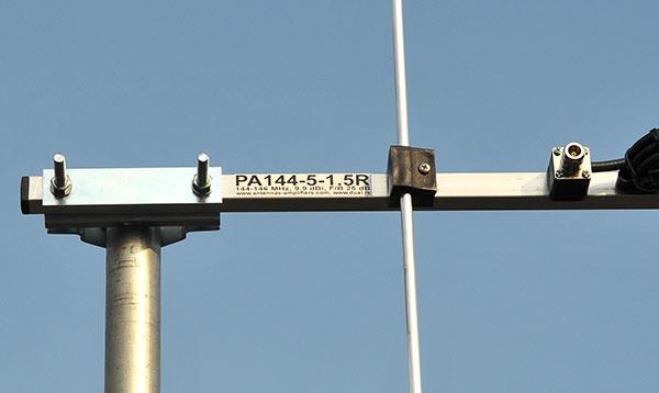 5 element 2-meter-vertical-polarization-Rear-Mount-Yagi-Antenna-label