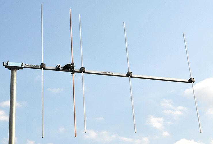 5-element 2-meter-vertical-polarization-Yagi-wideband Antenna-144mhz-146mhz