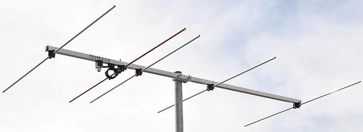 2-meter 144MHz-5-elements-antenna-PA144-5-1.5