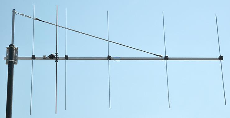 2m-Rear-Mount-6-elements-antenna-PA144-6-2RV-low-noise