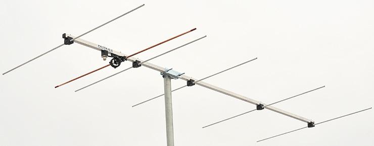 2m 6 element Yagi wideband-antenna-144mhz-146mhz portable