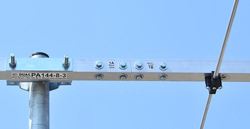 144mhz antenna-8-elements-PA144-8-3-bracket-boom-joiner