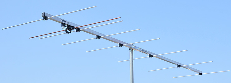 2 meter 8-element-144mhz low-noise-antenna-PA144-8-3