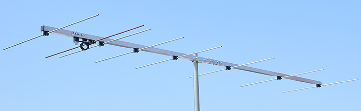 8 element 144MHz-Low-noise-wideband-antenna-PA144-8-3