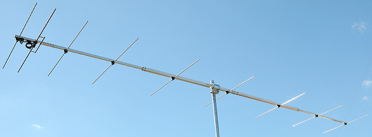 144 MHz Competitions Yagi Low noise design Antenna PA144-9-5A